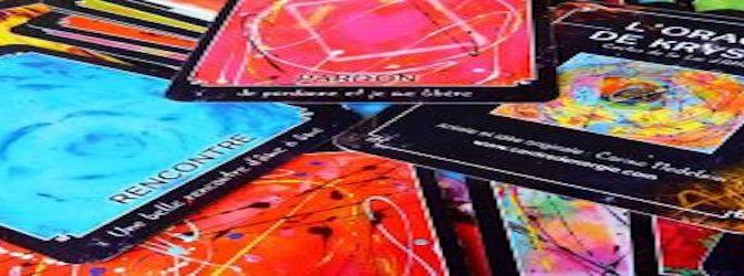 L'oracle de krystal: cartes de la loi d'attraction